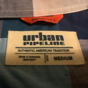 urban pipeline Shirts & Tops - URBAN PIPELINE BUTTON UP SHIRT